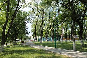 А вот и сам парк...