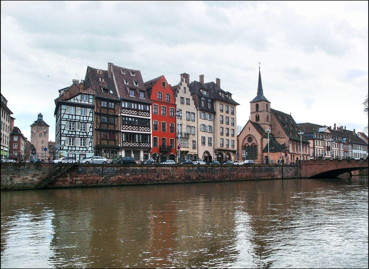 Страсбург с воды Страсбург, Франция