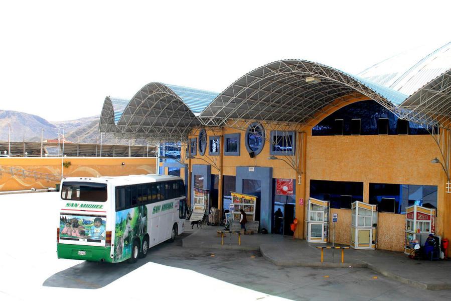 круговой перрон автовокзала Потоси