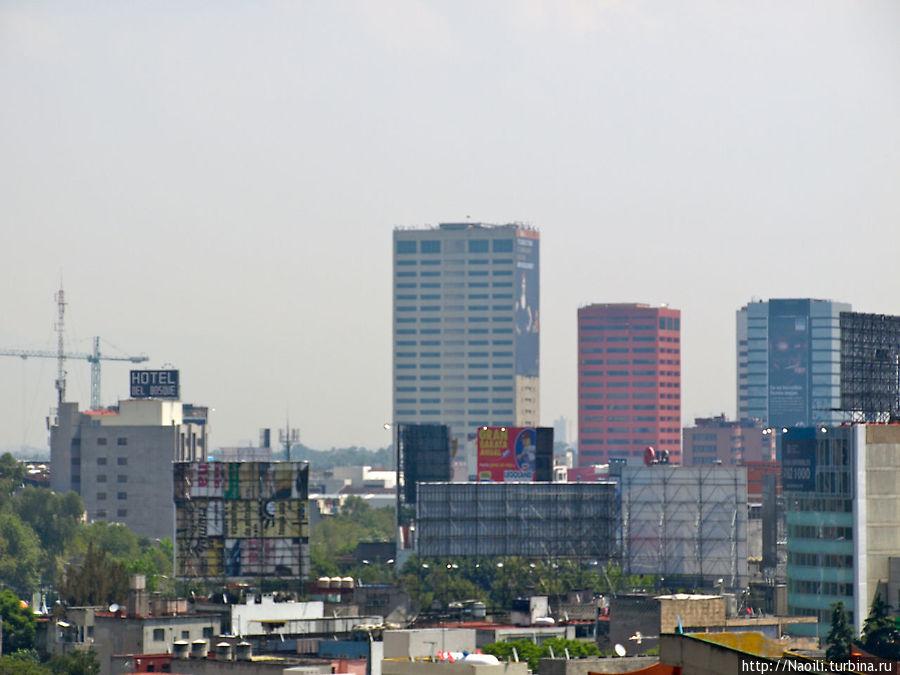 Деловая часть города