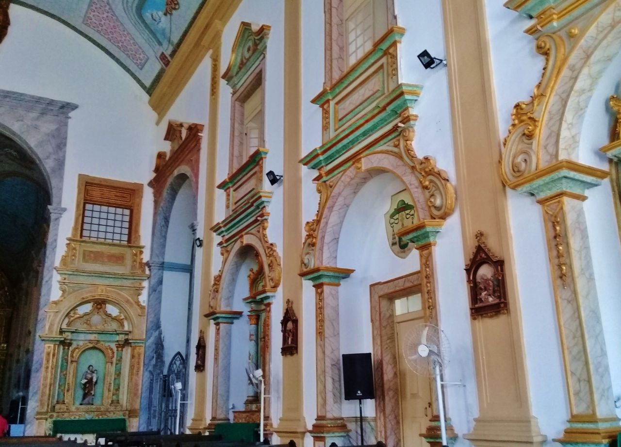 Кафедральный Собор Победоносной Святой Богоматери Сан-Луис, Бразилия