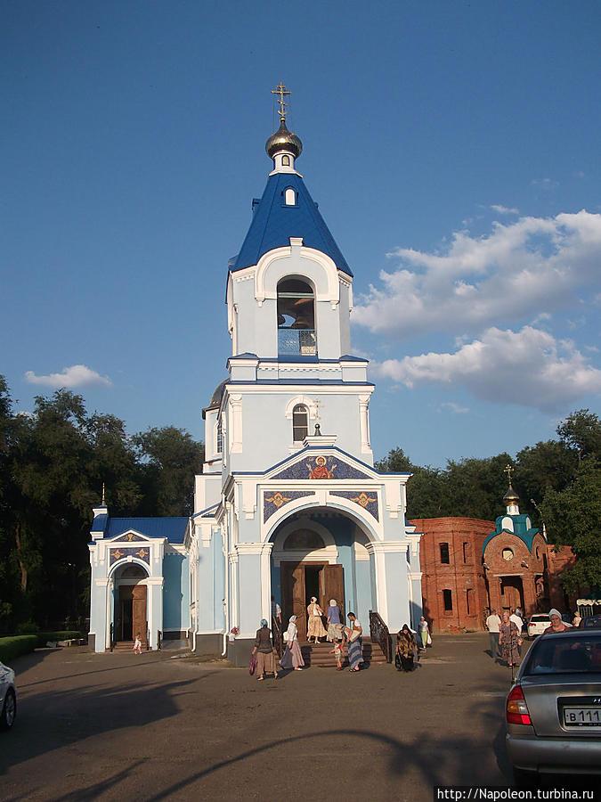 Свято-Успенский храм Тихорецк, Россия