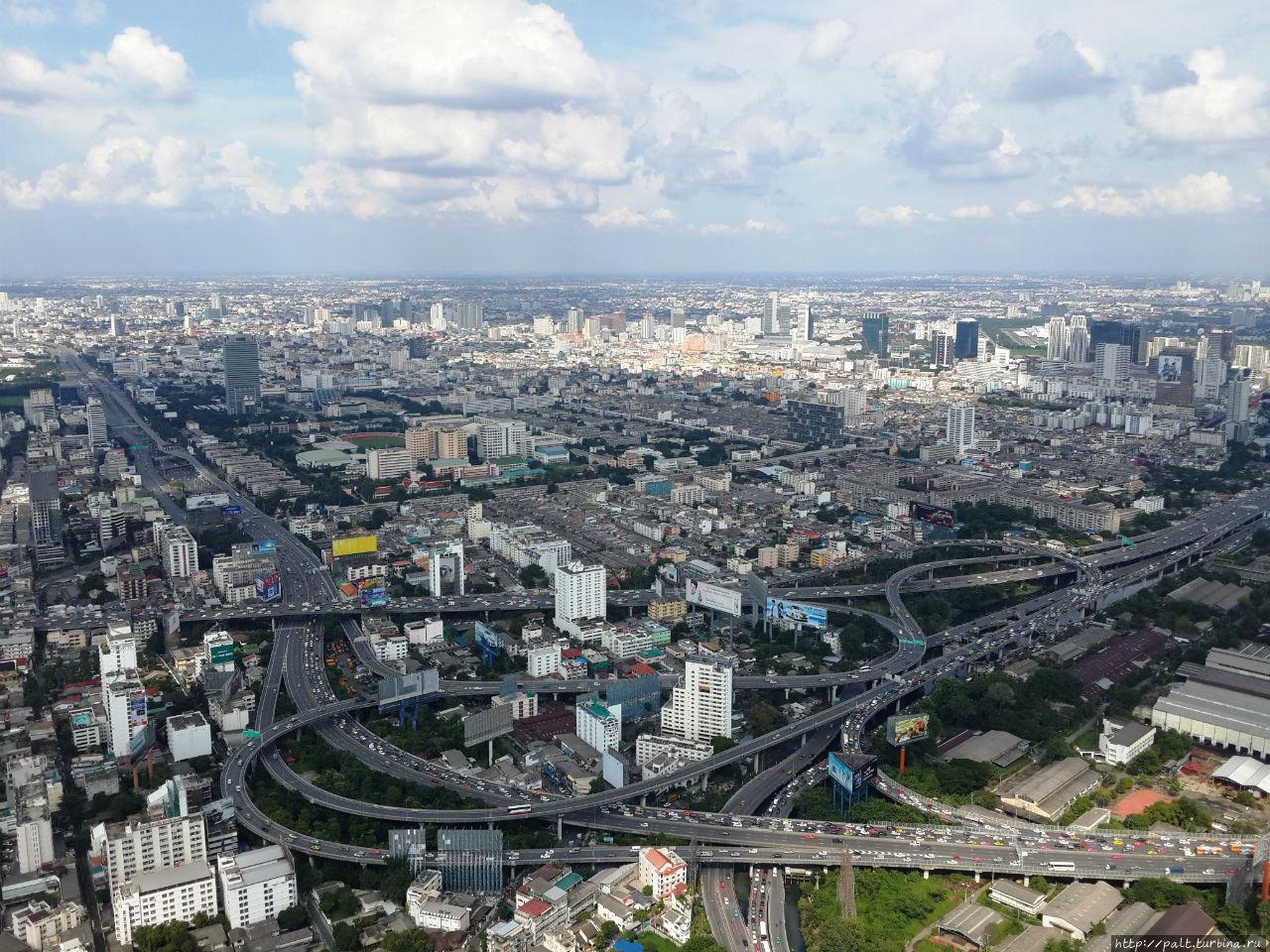 Вот такой Бангкок с высоты 250 метров