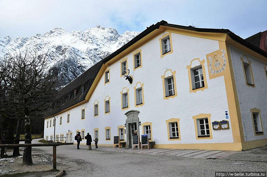 Ресторан, расположенный в бывшем охотничьем дворце.