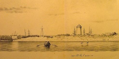 Маяк в навигационной книге 1871-го года. Фото с сайта http://www.etts.ee
