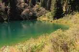 Маленькое озеро возле смотровой площадки.