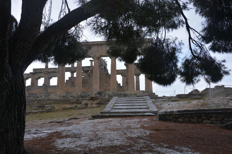 Эгина. Святилище Афайи Остров Эгина, Греция