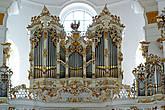 Орган  первоначально выполнен органным мастером Иоганном Георгом Нёрихом.