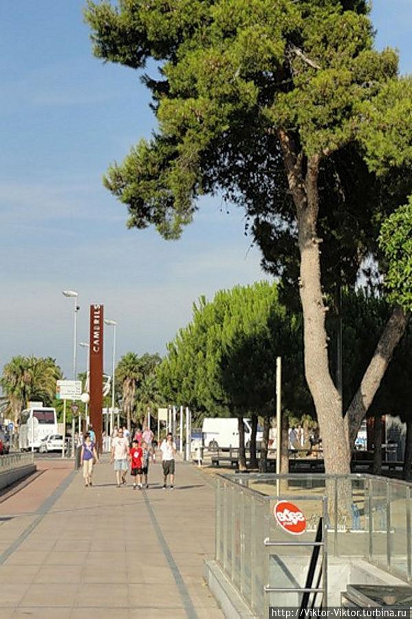 Приморский город Камбрильс Камбрильс, Испания