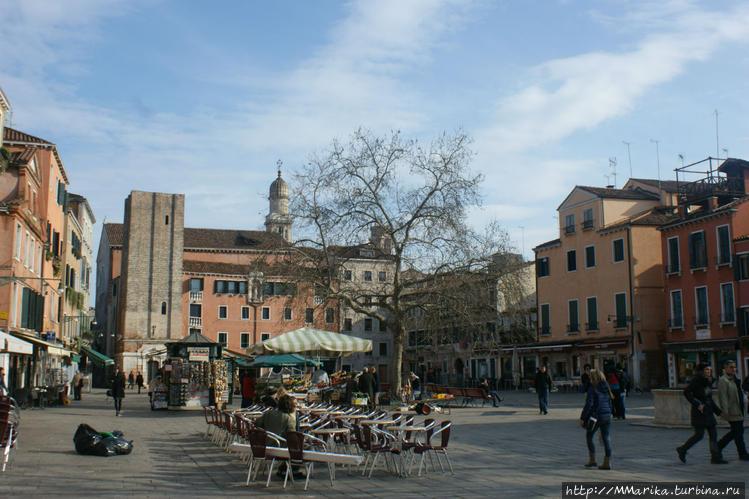 площадь Santa Margherita