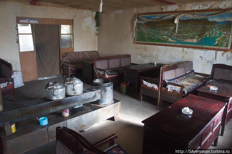 Гестхауз в Мойнсере, обеденный зал
