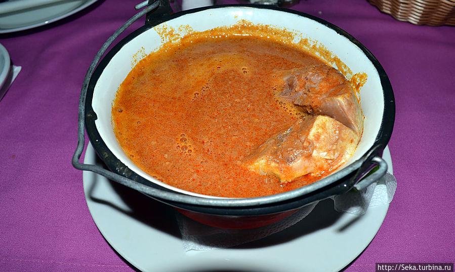 Рыбный суп «Халасле»