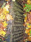 А это надгробие особенно интересно. Здесь говорится о том, что это могила Ольги Николаевны Бонч-Богдановской (урожденной Шалыгиной), которая скончалась 30 марта 1897 года. Необычной является приписка:
