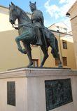 Памятник кастильскому королю Альфонсо VIII.