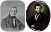 Карл Фридрих Шинкель и Андрей Иванович Штакеншнейдер (фото из Интернета)
