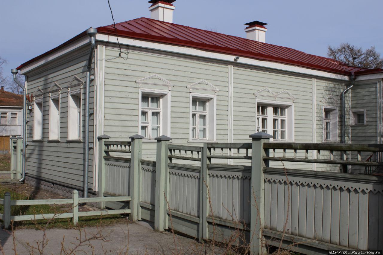 Жилой дом семьи Лазаревых (1908г)