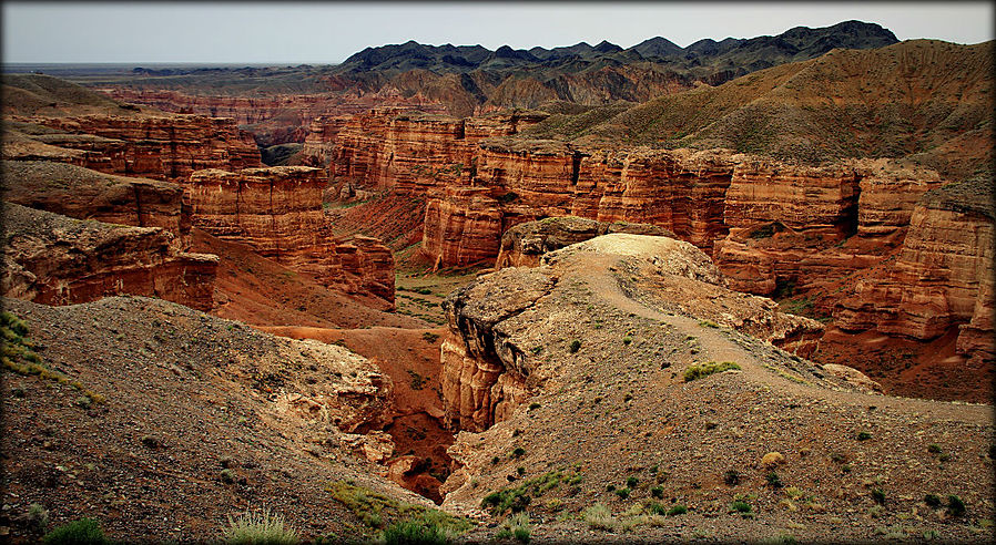 Обнаженная история Земли — каньон Чарын Чарынский Каньон Национальный Парк, Казахстан