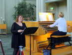 В церкви Хатльгримскиркья прекрасная акустика