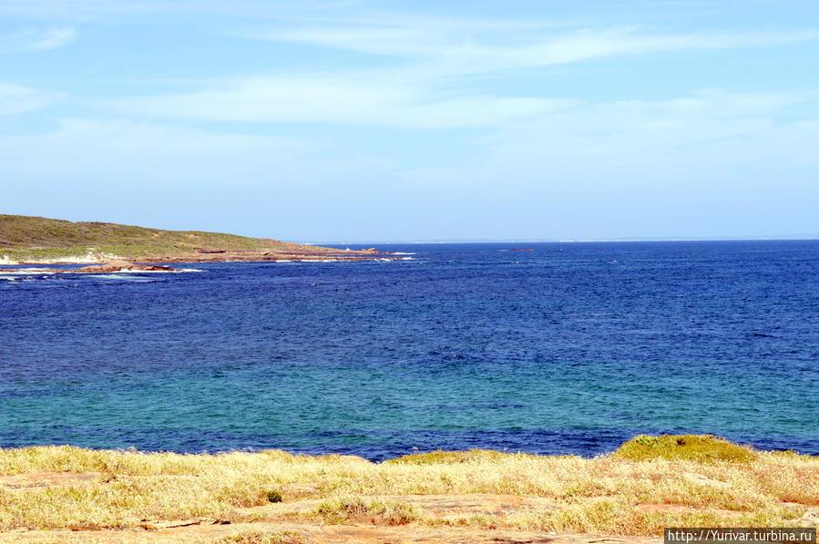 Берега мыса Леувин суровы и не тянут к пляжному отдыху Маргарет-Ривер, Австралия