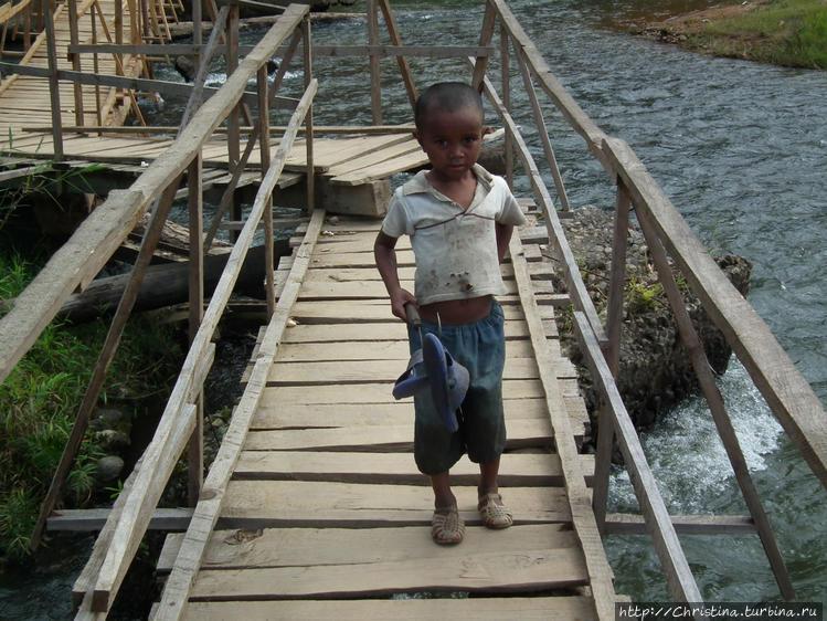 Мадагаскарские дети — это