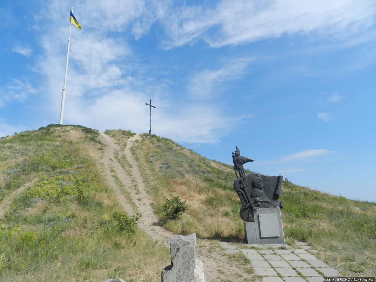 Пешком по острову Хортица Хортица, Украина