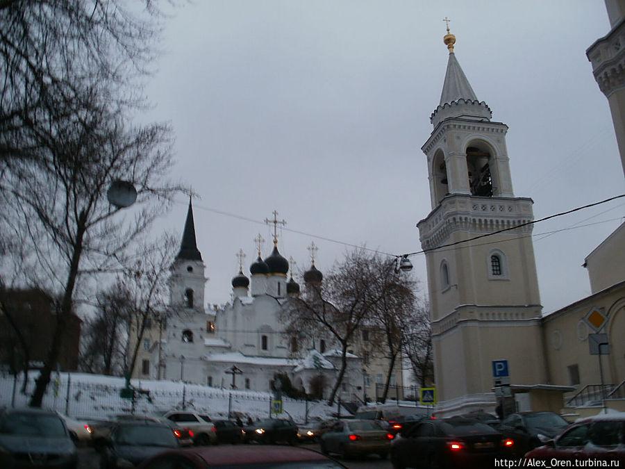 Церковь Владимира и башня Иоановского монастыря