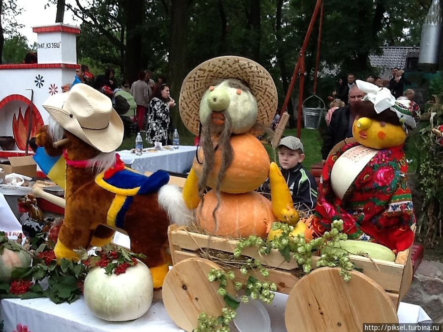 Конкурс оригинальных овощей и фруктов