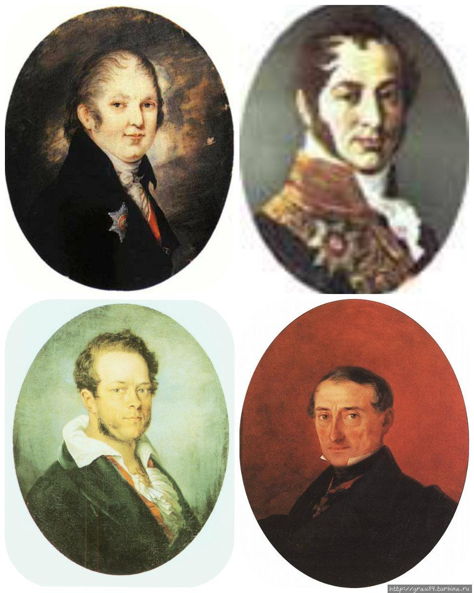 Губернаторы Мертваго, Левинский, Перовский, Казначеев