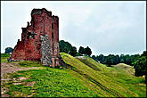 Замок Миндовга — остались только руины