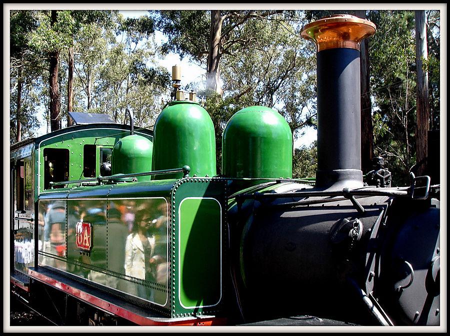 Каждый из локомотивов, работающих на Puffing Billy  имеет свою историю и идентичность.
