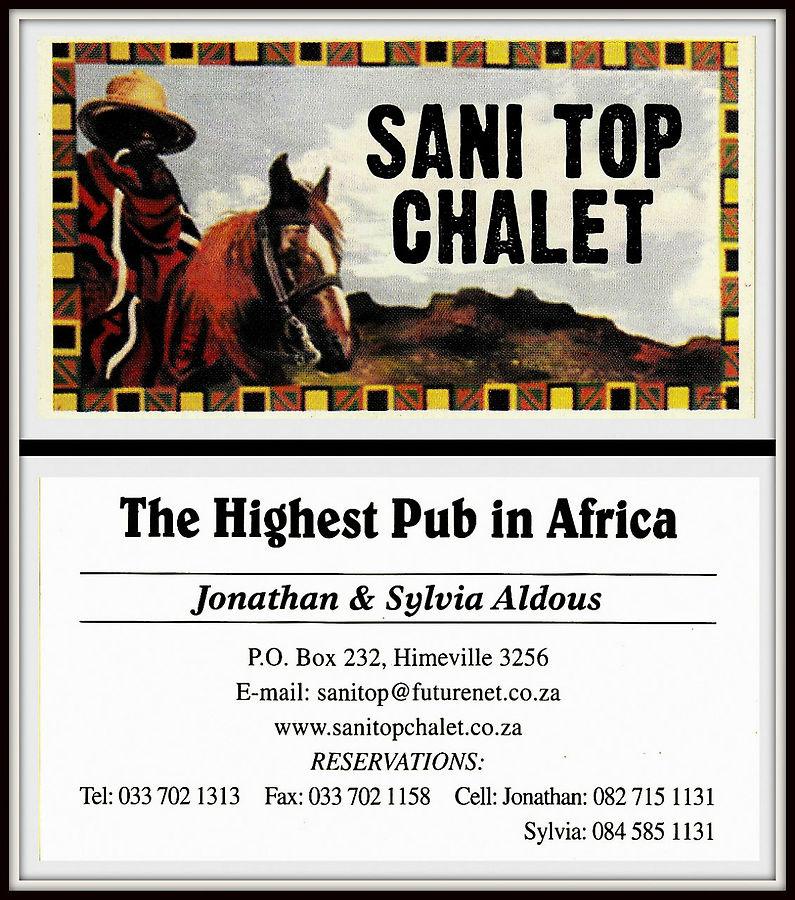 Это визитка 2010 года.  Теперь они называются SANI MOUNTAIN LODGE – The World's Highpoint