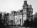 Бремен. Дворец Краенхорст. 1873 г. Архитектор Й. Поппе. Разобран в 1912 г.