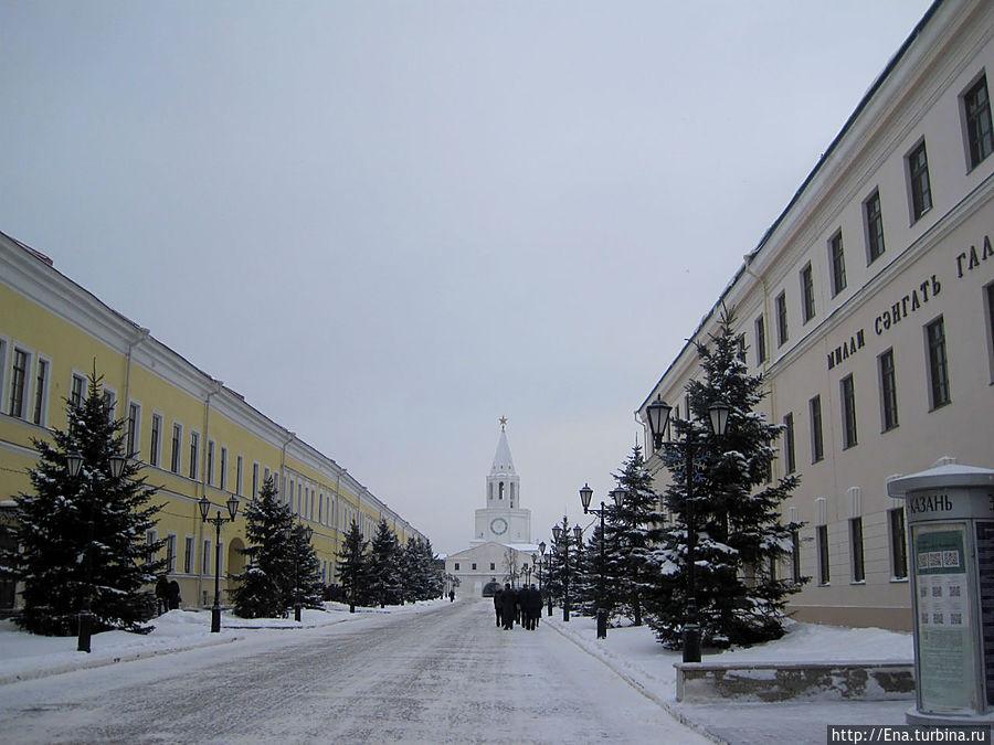 По улочкам Казанского Кремля