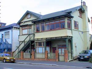 В Веллингтоне много домов в таком стиле