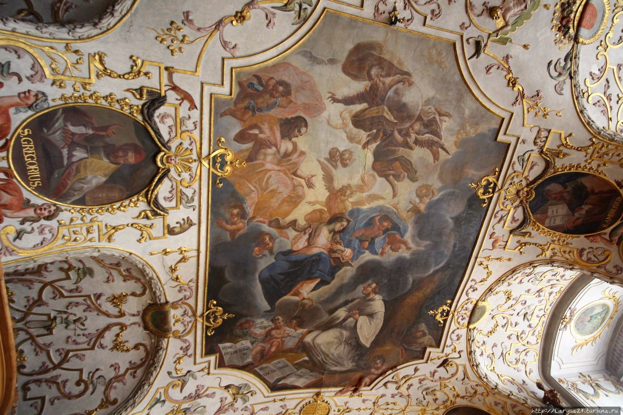 Потолочная фреска