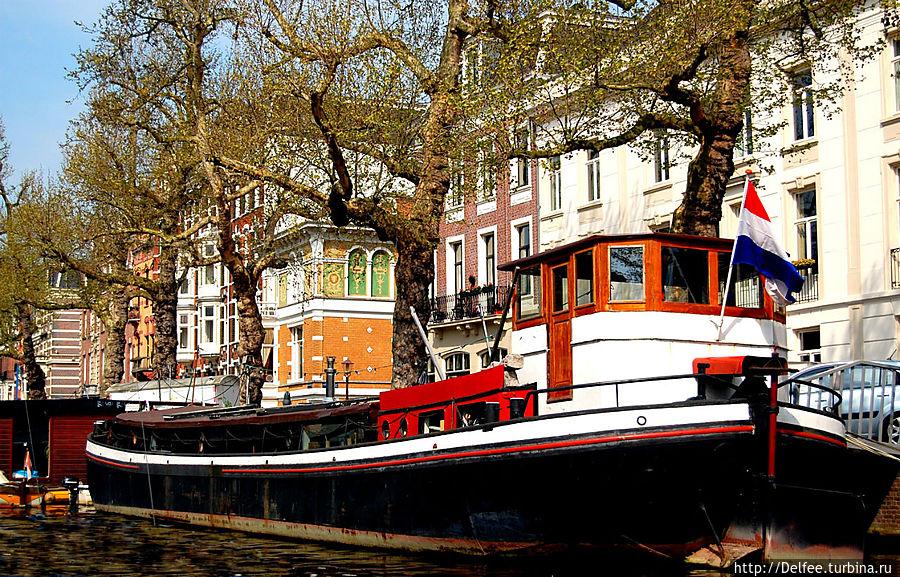 где покататься на лодке в амстердаме