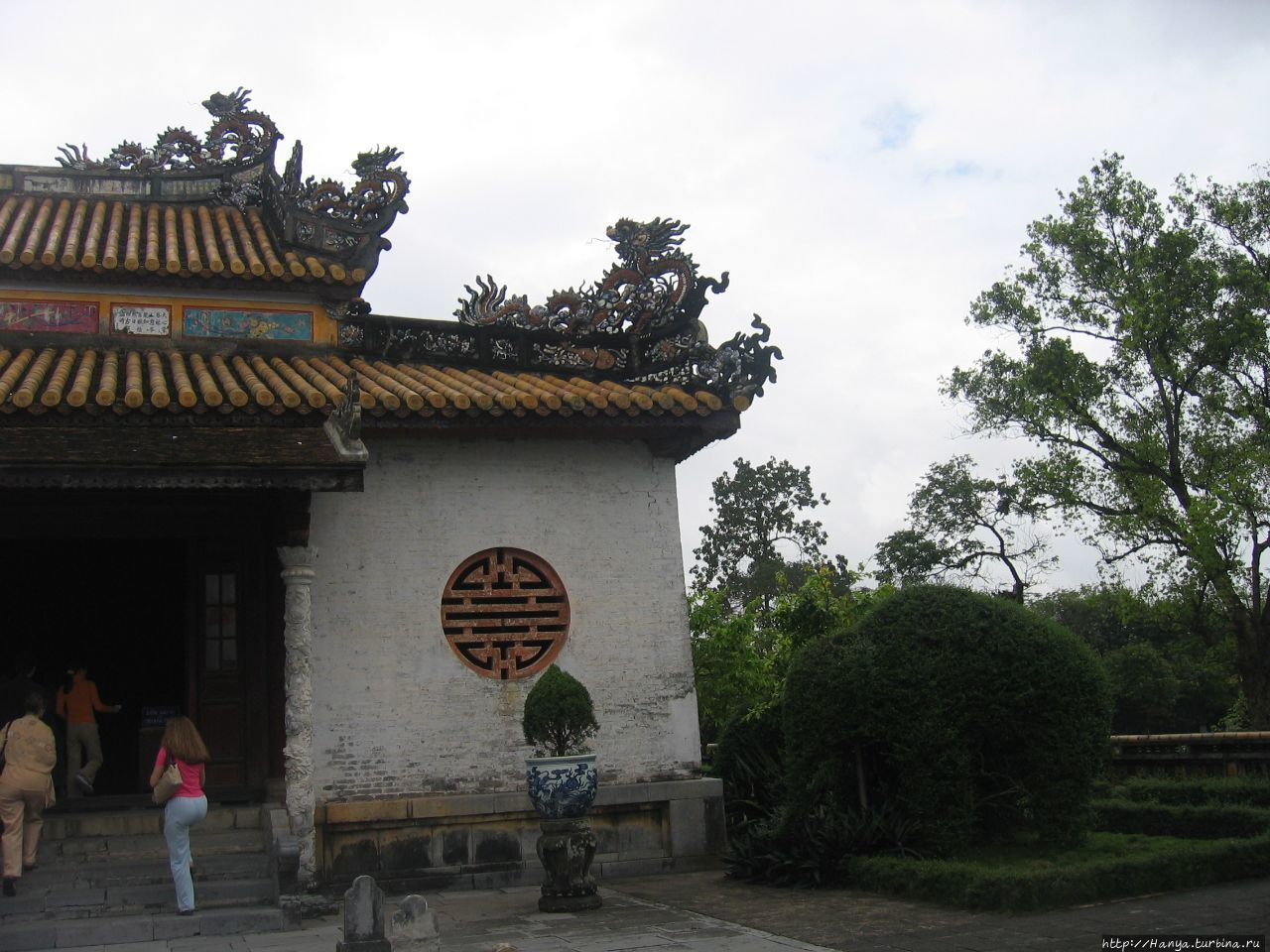 Хюэ. Сад  Императорского