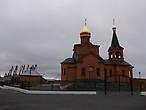 церковь в Дудинке