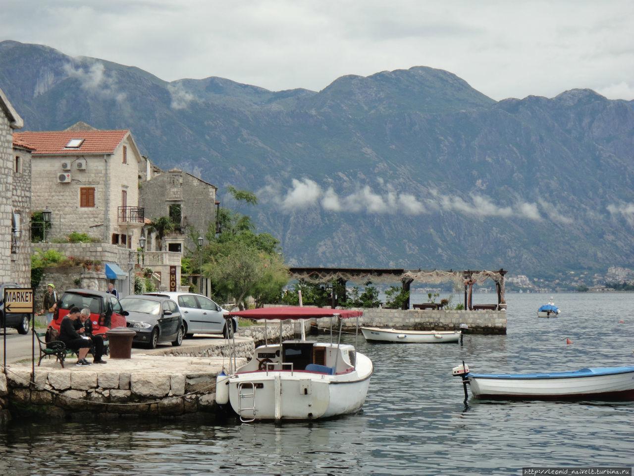 Пераст. Черногория. Одна улица, два острова, три бюста Пераст, Черногория