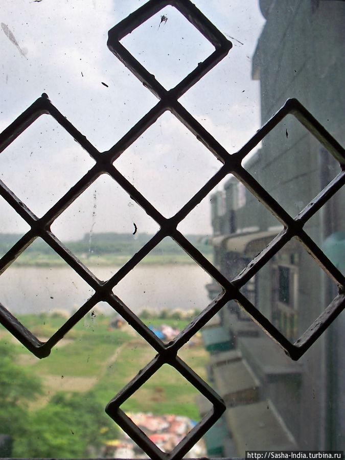 Вид с окна номера