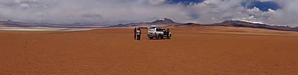 пересекая красные пустыни