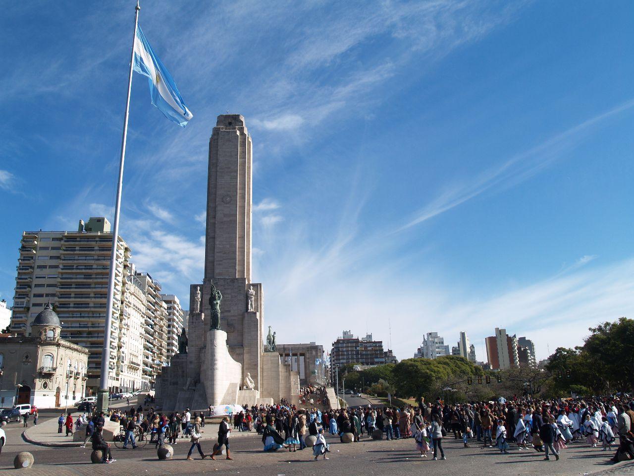 Монументальный символ аргентинской нации