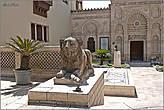 Во дворе Коптского музея