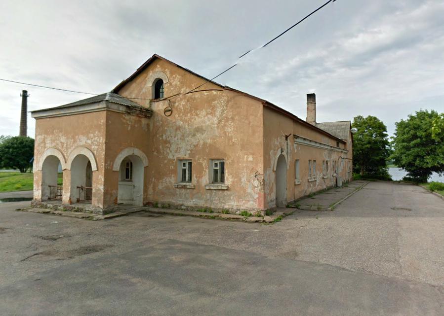 А вот и та самая баня (Google Street View)