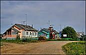 Здесь начинается село Ломоносово