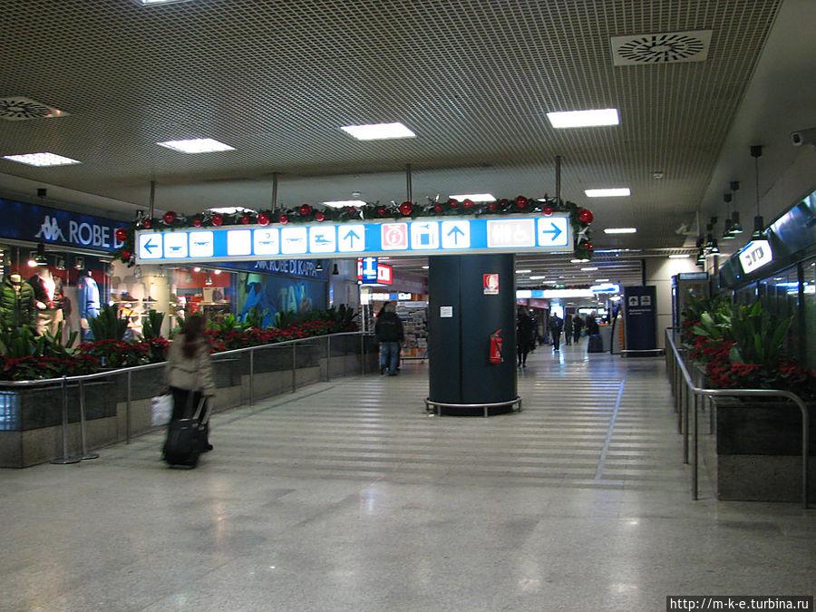 Указатели аэропорта