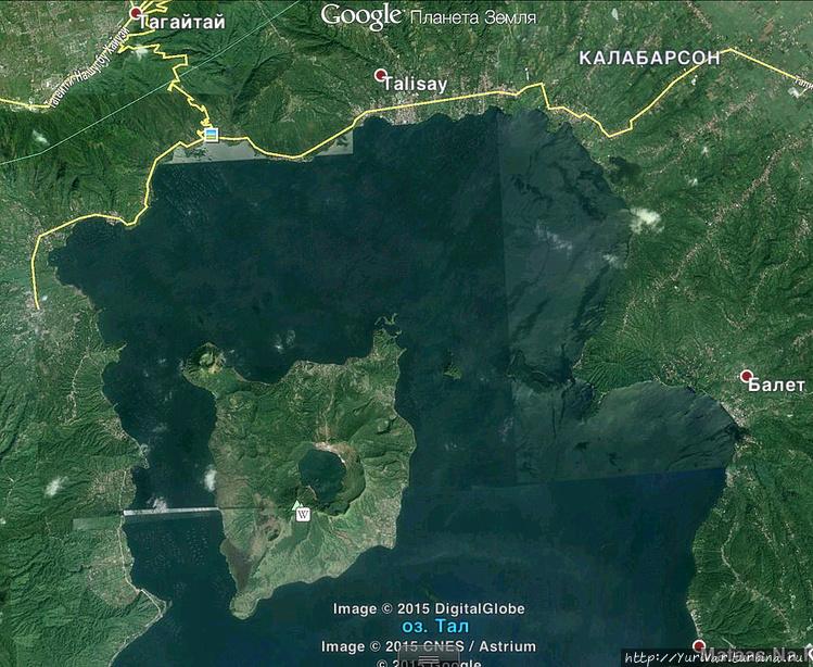 Остров Талисай с двумя кр