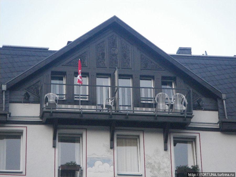 Балкон нашего номера