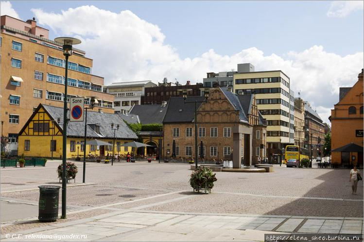 1.  Площадь Christiania t