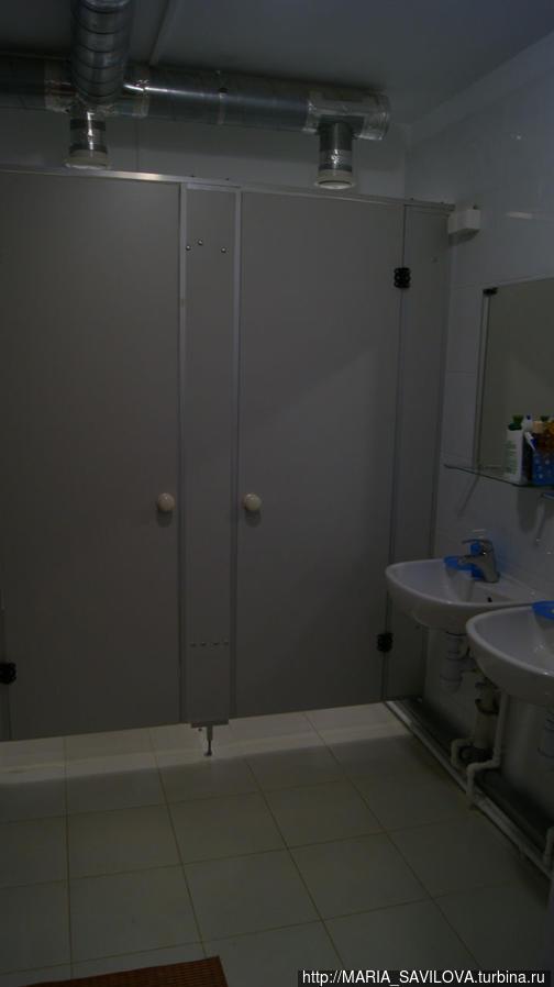 женская душевая /туалет